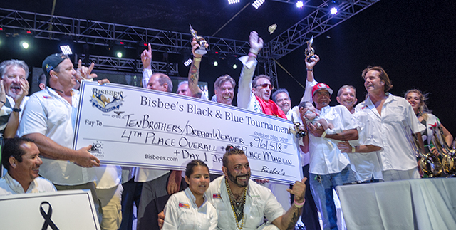 Bisbee Black & Blue Winners Receive $3,255,750
